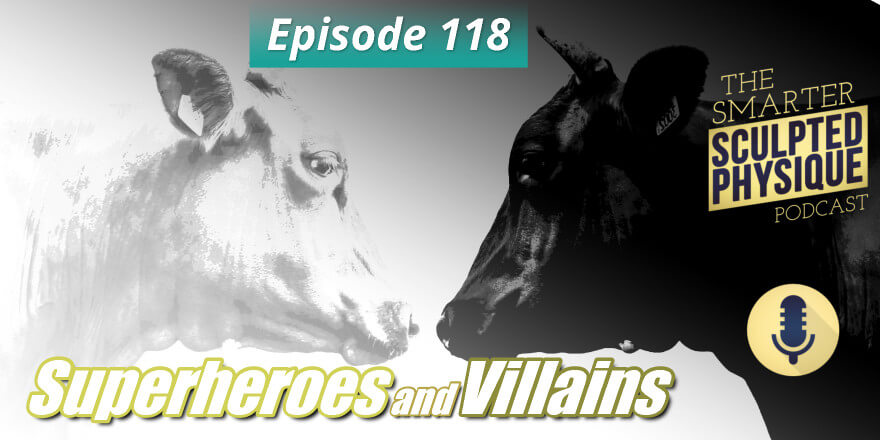 Episode 118. Superheroes and Villains